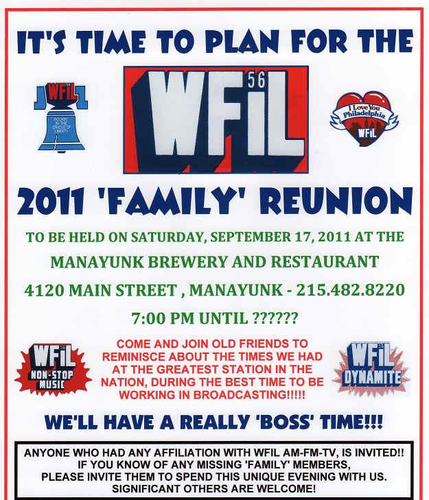 2011 Family Reunion – Family Reunion Flyer